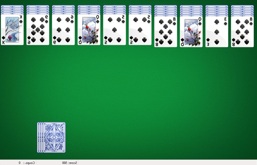 Comment jouer à la réussite jeu de carte ?