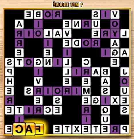 Comment jouer au jeu maxi mots croisés ?