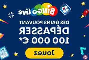 Comment se joue le bingo live ?