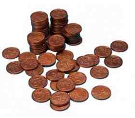 jeux de hasard avec de la fausse monnaie