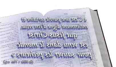 le jeu est un péché verset biblique